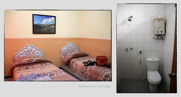 nuestra habitación en Bromo
