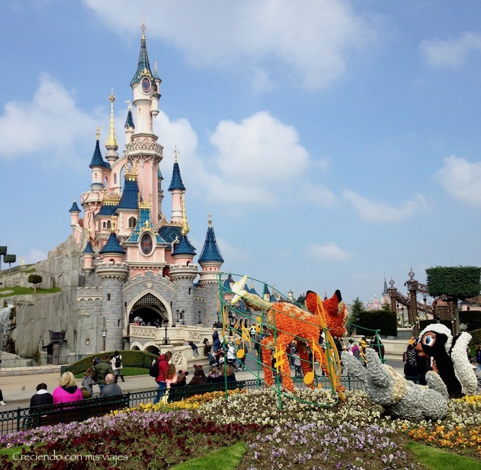 Castillo Disney París