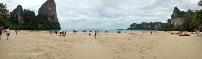 Railay West Beach - Nos vamos al paraíso llamado Railay...