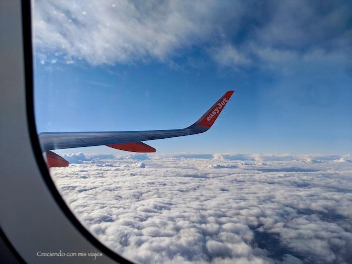 vuelo París-Barcelona