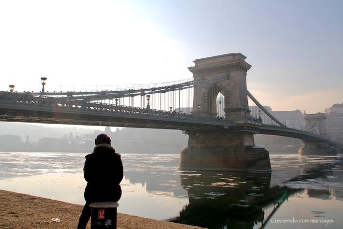 Puente de las cadenas - Budapest