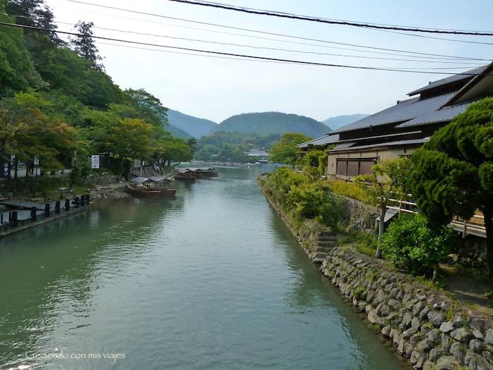 río Katsura en Arashiyama