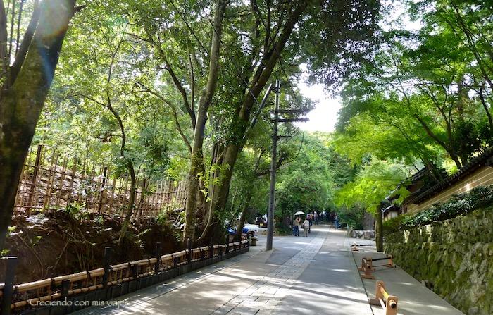 esta zona de Kyoto es poco conocida y tiene mucho encanto…