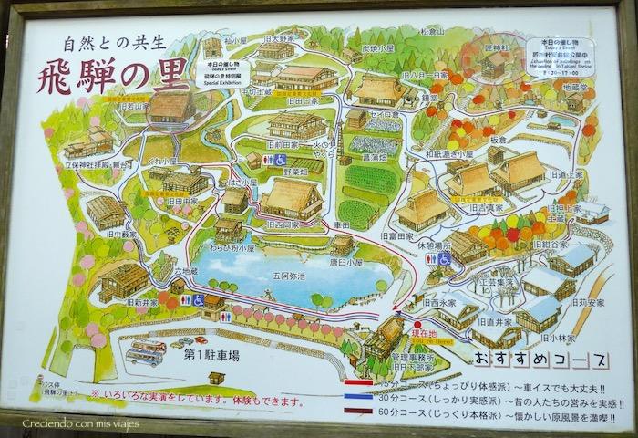 mapa del Museo al aire libre
