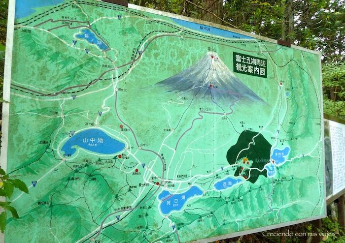 mapa de la zona que estamos recorriendo hoy