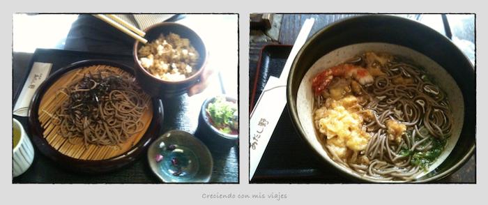 comida arashiyama.001 - Entre bosques de bambú en Arashiyama