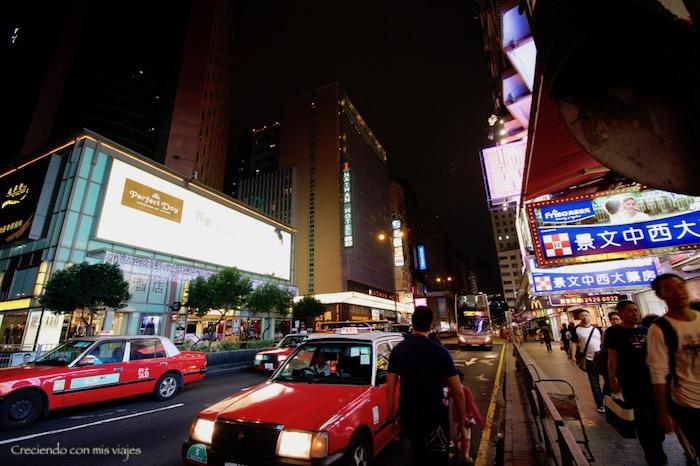 taxis en Jordan Street