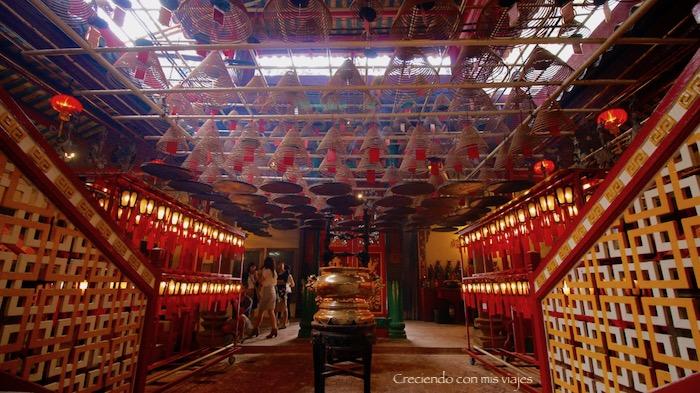 Templo Man Mo - Centro Hong Kong y Temple Street
