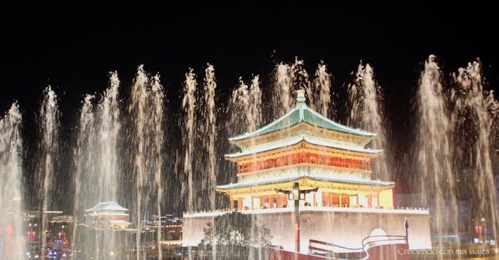 Torre de la Campana y Torre del Tambor de Xi'an