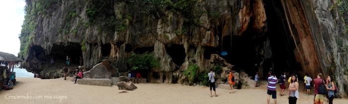 cueva James Bond Island - Ao Phang-Nga National Park