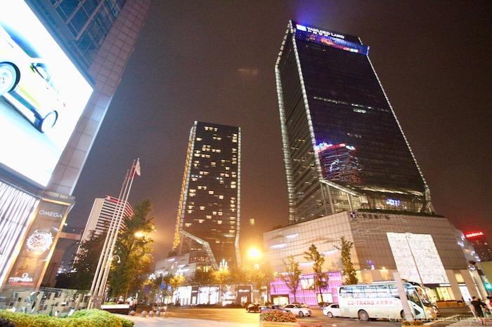 la torre del centro es nuestro hotel