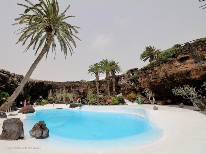 piscina de Jameos del Agua - Cueva de los Verdes y Jameos del Agua