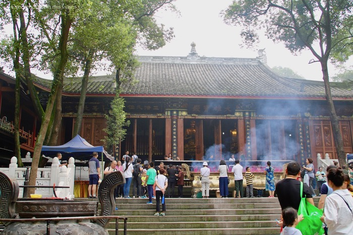 templo del Gran Buda de Leshan - Buda de Leshan