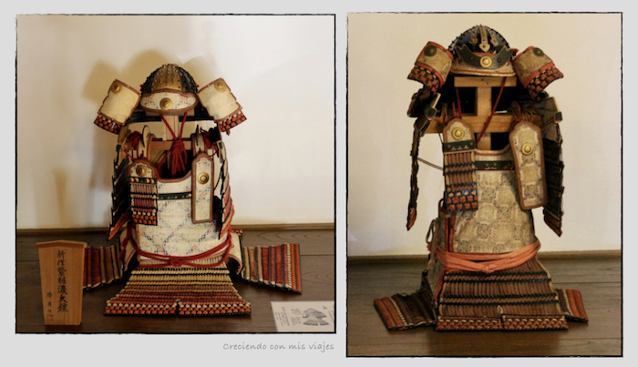 armaduras Samurai en el Castillo de Kawagoe - Kawagoe, Ikebukuro y Shibuya