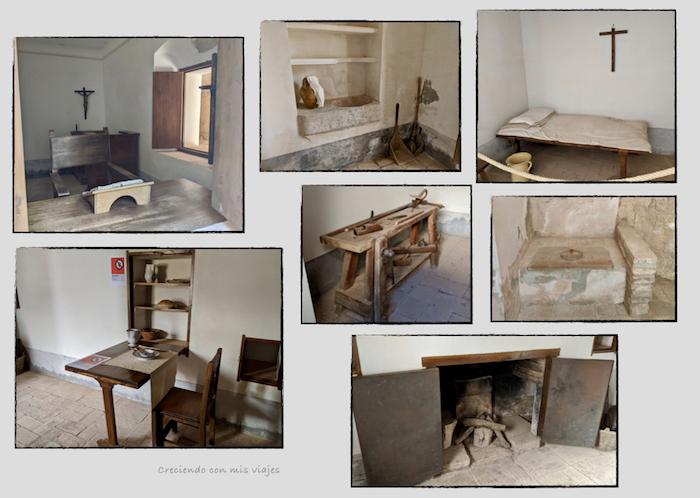 habitación Prior Cartoixa Escaladei - Cartoixa d'Escaladei