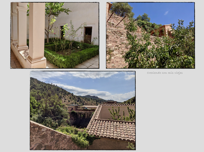 jardin y huerto Prior Cartoixa Escaladei - Cartoixa d'Escaladei