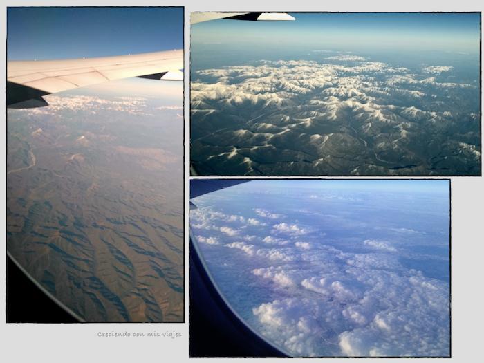 paisajes desde el vuelo Haneda Munich ANA - Vuelta de Japón con sorpresa en Múnich